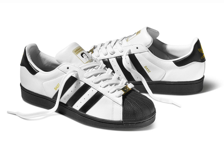 "100% authentic 80885 6bf54 adidas skateboarding   ""RESPECT YOUR ROOTS TRIBUTE SERIES"" MODEL   SUPERSTAR  – JOEY BAST COLOR   WHITE   BLACK PRICE   12,000yen +tax"