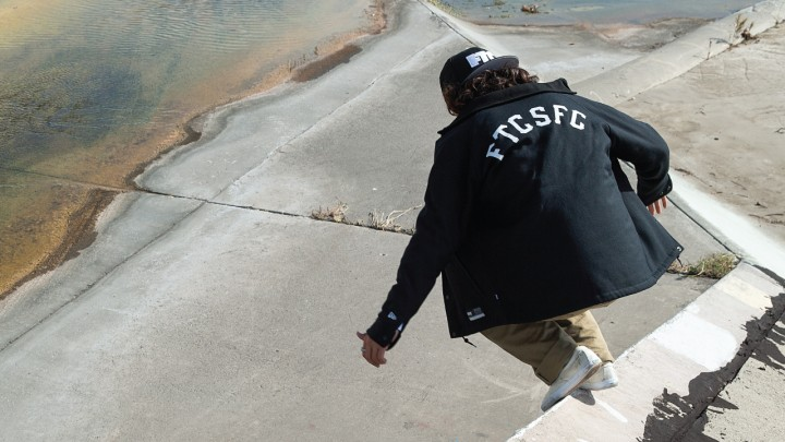 FTC x NEW ERA WOOL COACH JACKET-1856