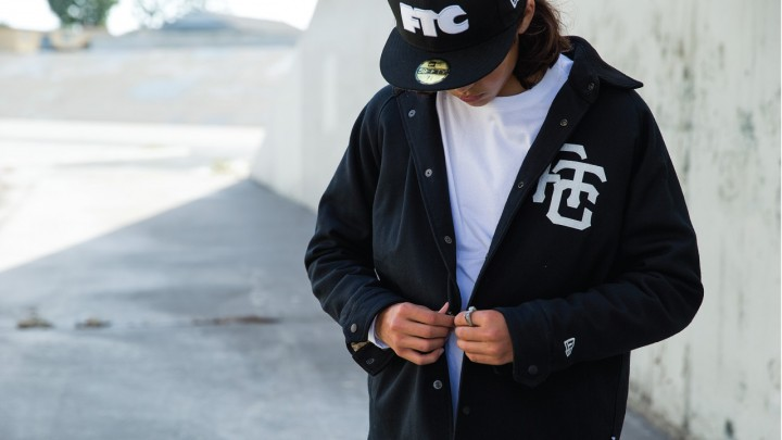 FTC x NEW ERA WOOL COACH JACKET-1857