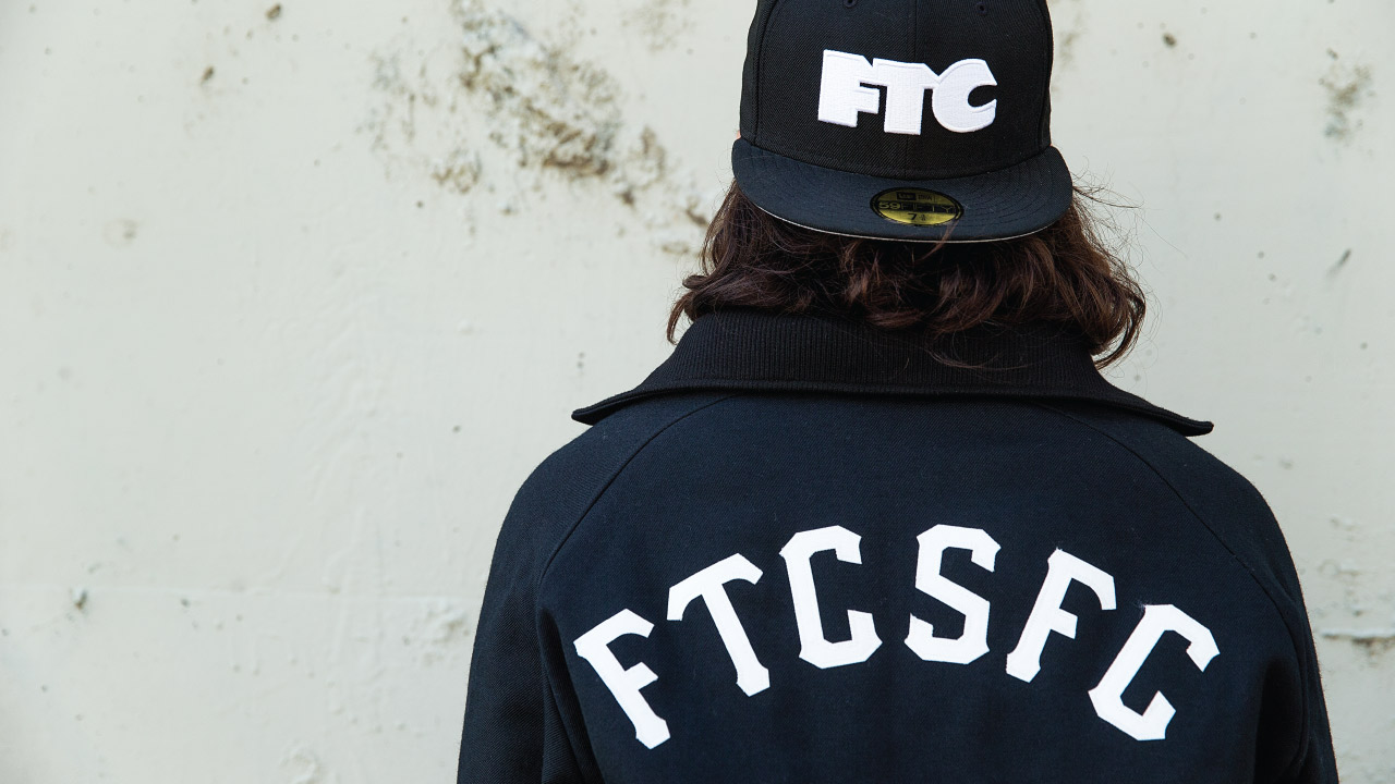 FTC x NEW ERA WOOL COACH JACKET-1861
