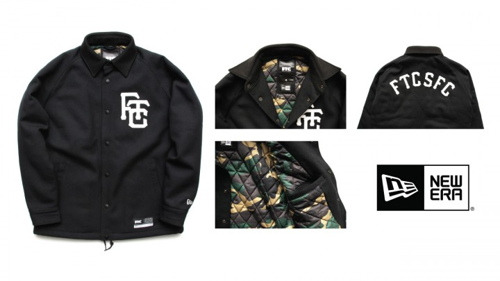 FTC x NEW ERA WOOL COACH JACKET-1859